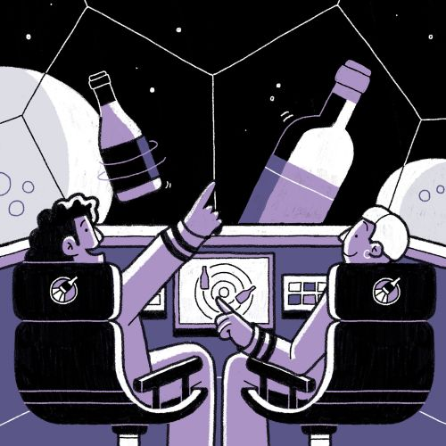 Boldly Seeking Out New Wines