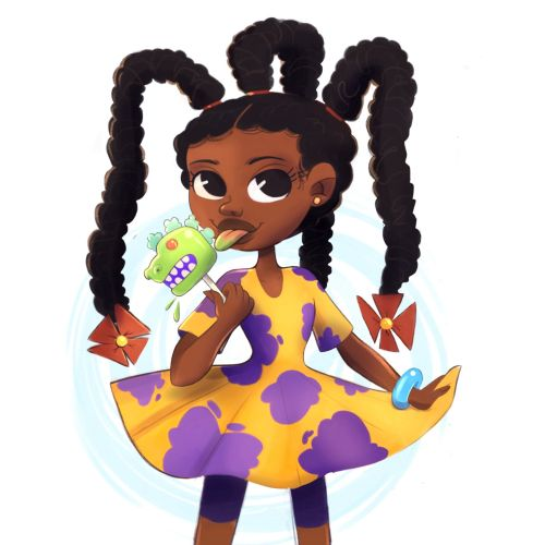 Character design of susie carmichael