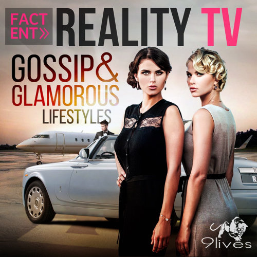 Realistic Album cover for reality Tv show