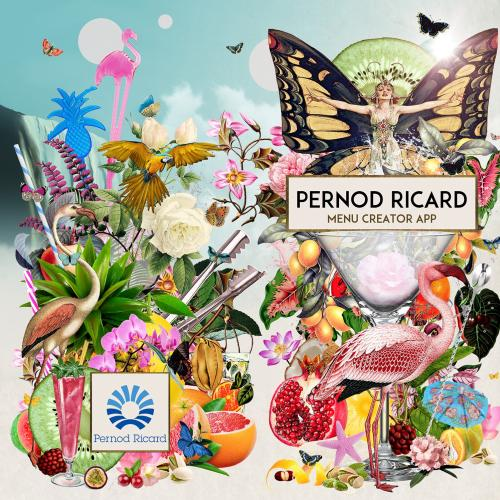Pernod Ricard app display picture illustration