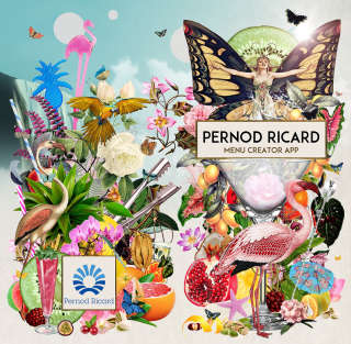 Pernod Ricard app display picture illustration