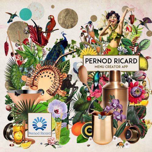 Pernod ricard advertising-graphic