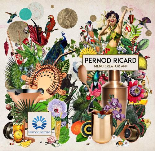 Pernod ricard advertising-graphic