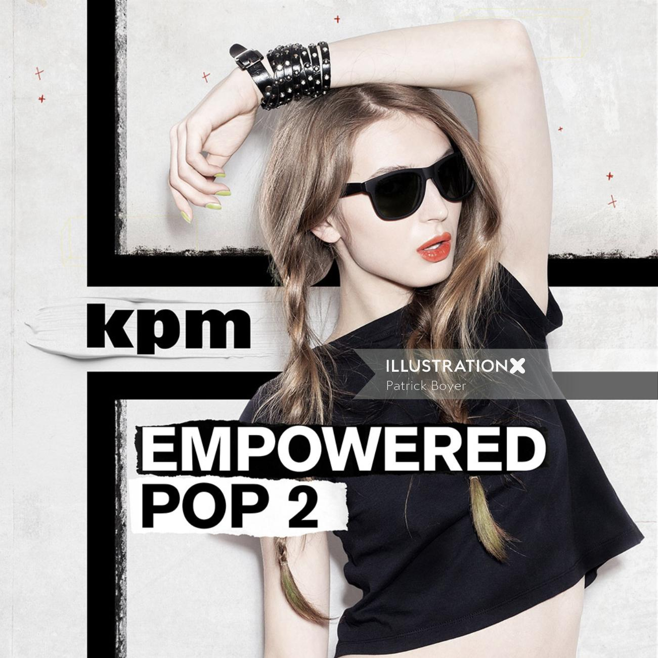 Album cover of empowered pop 2
