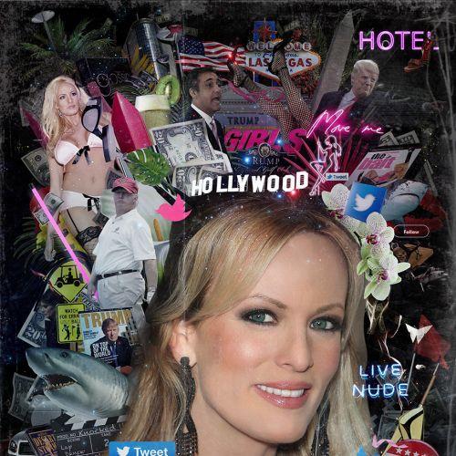 Stormy Daniels Trump portrait