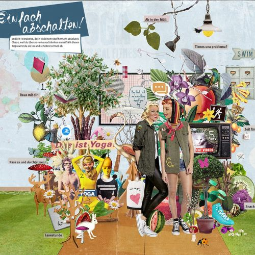 Collage of fun stuff montage by Patrick Boyer