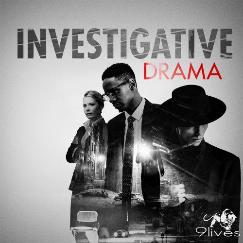 Conceptual graphic investigative drama