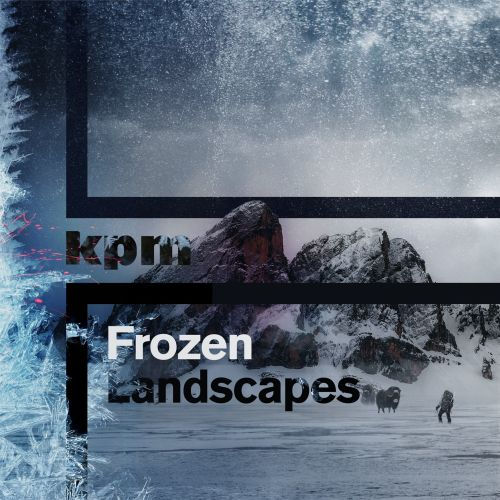 frozen landscape album cover by patrick boyer