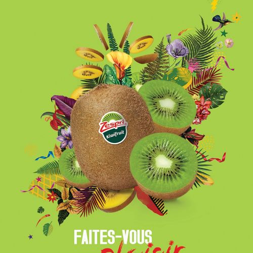 Fruit photo montage zespri France