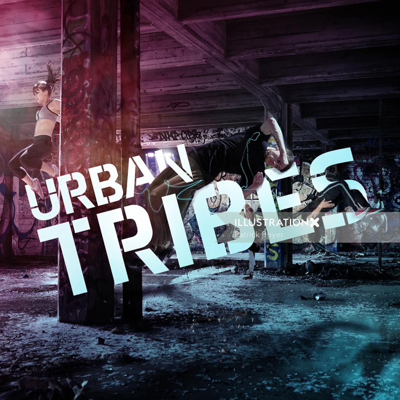 Collage & Montage Urban tribes