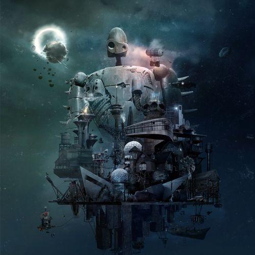 Graphic Alien Space Ship