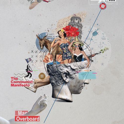 Patrick Boyer Collage & Montage
