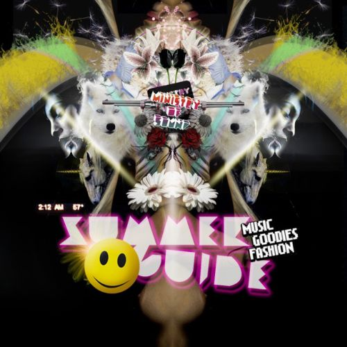 surreal illustration of Ministry of Sound Summer Guide