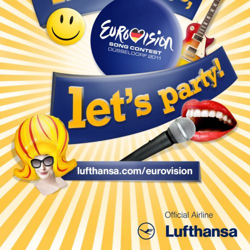 EuroVision 2011 - Lufthansa - An illustration by Patrick Boyer