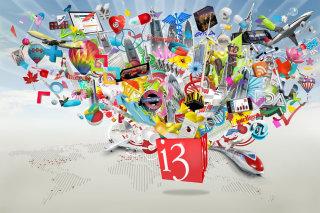 An illustration for i3 Global by Patrick Boyer