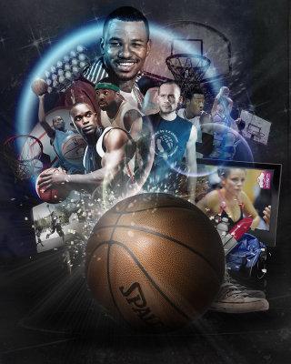 ESPN basketball illustration by Patrick Boyer
