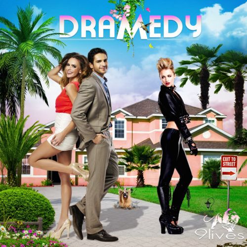 An illustration for dramedy albulm cover by Patrick Boyer
