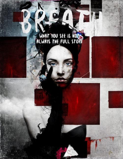 Breath bloody poster art by Patrick Boyer