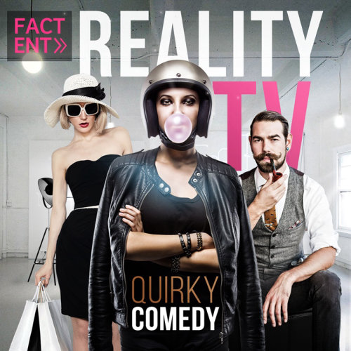 Illustration for reality tv by Patrick Boyer
