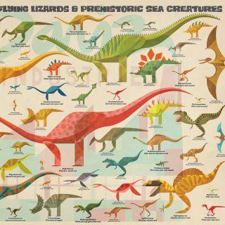 Dinosaurs wall art