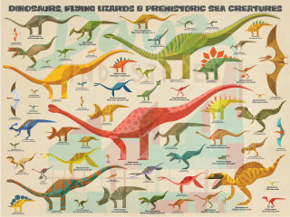 Dinosaurs wall art