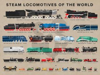 Street art of trains