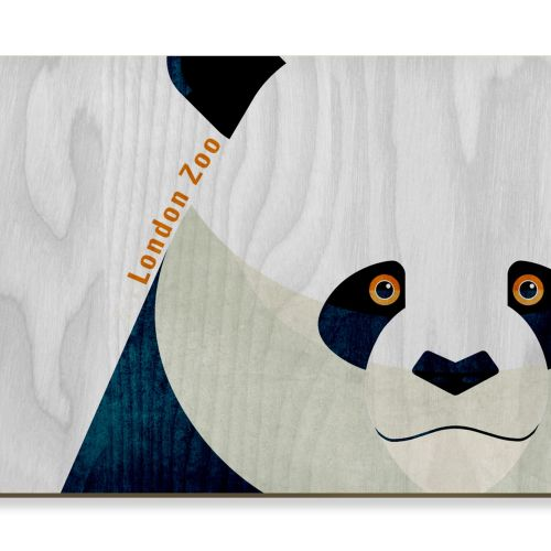 Panda - postcard design