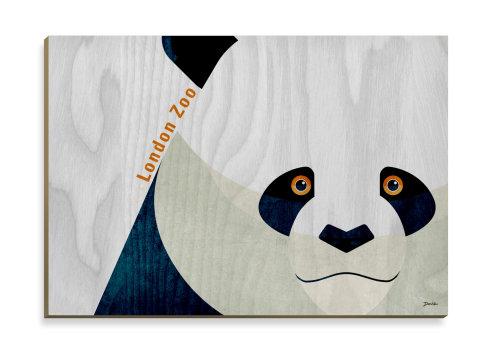 Panda - diseño de postal