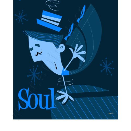 Northern Soul Graphic Wall art