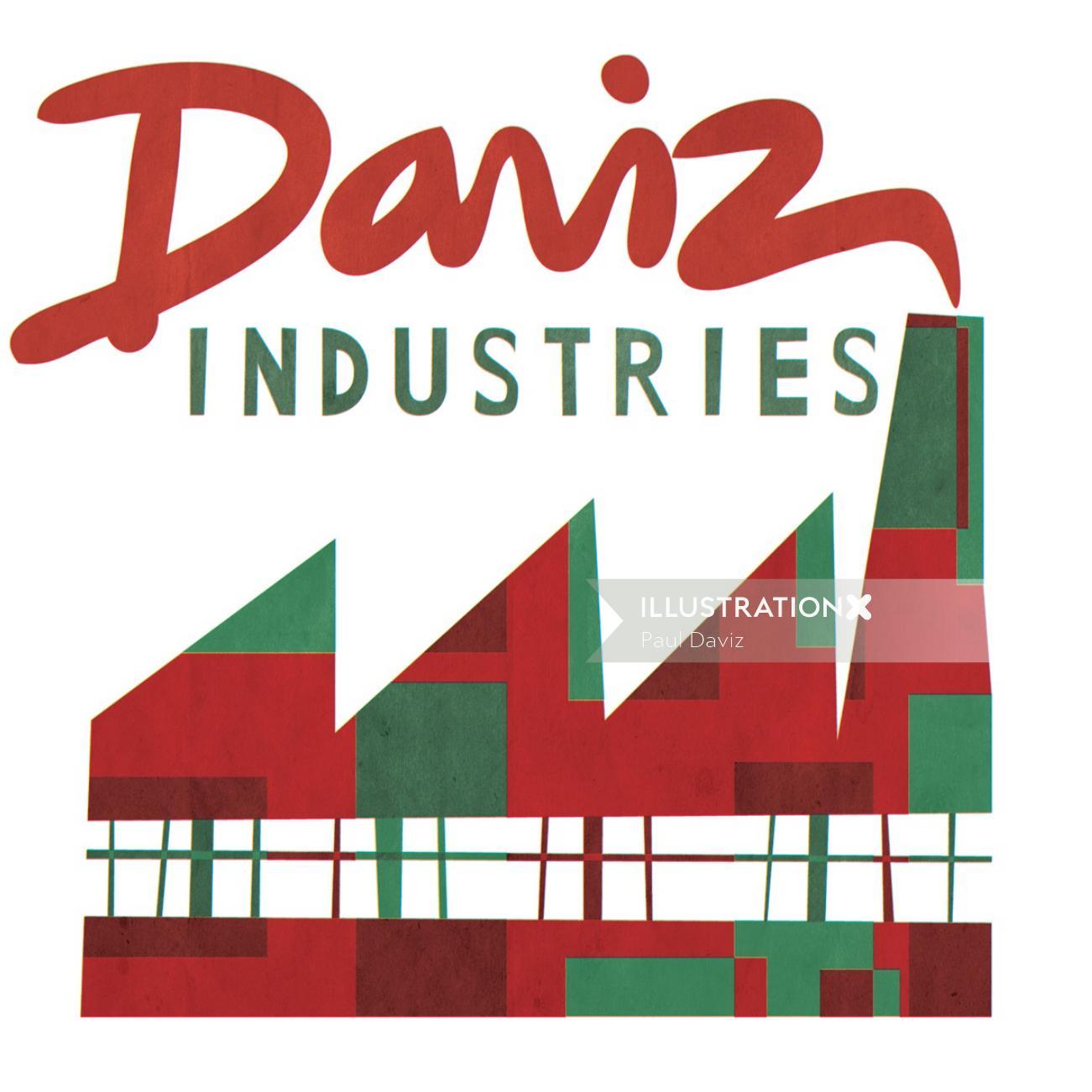 Daviz industries Graphic Logo design