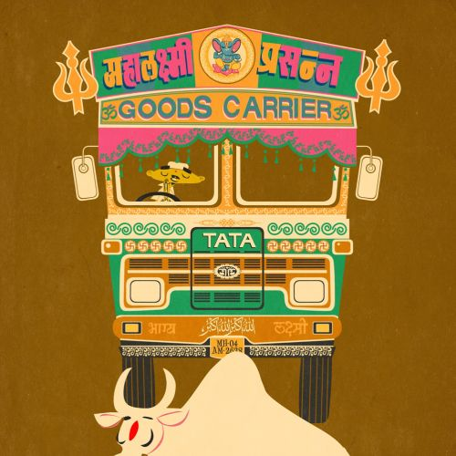 Poster design of India