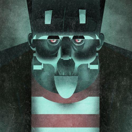 Vector illustration of Karloff