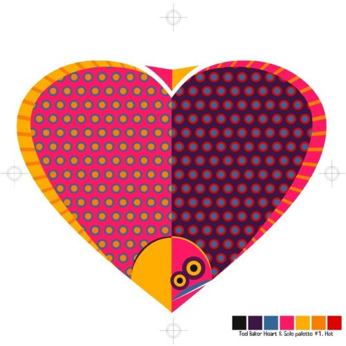 Heart and sole Conceptual Graphic design