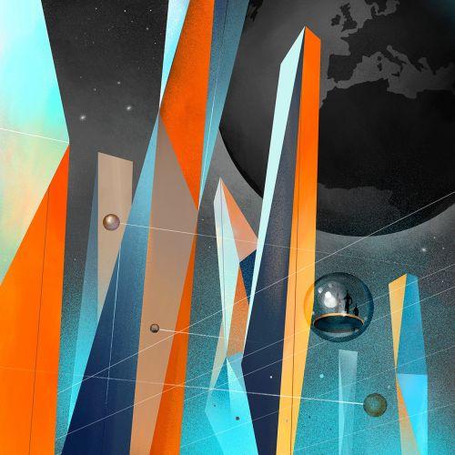 Przekrój digital earth 2.0
