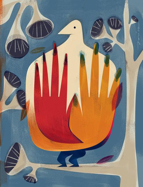 Birdie Nature poster