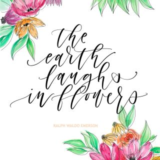 Peggy Dean - Floral, lettering and whimsical illustrator. US