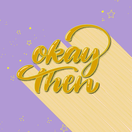 """Okay then"" 80s style tribute"