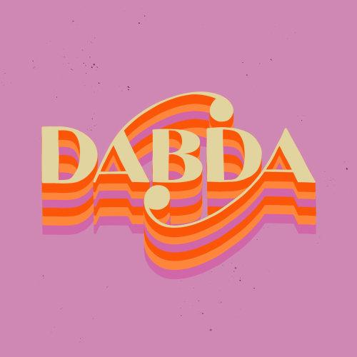 Lettering Dabda