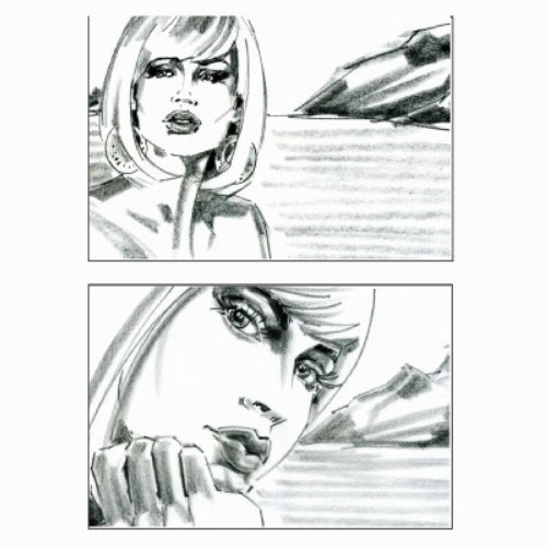 Storyboard of beautiful women