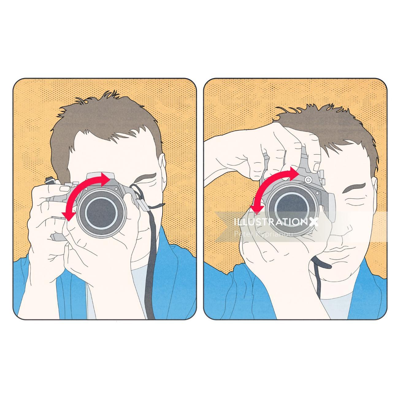 Infographic of Photographer