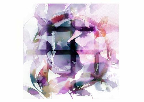 collage de peinture aquarelle