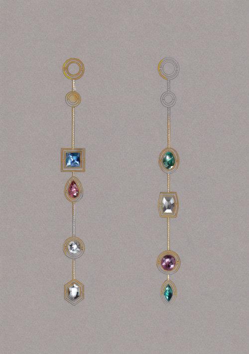 Graphic Jewellery stones