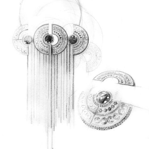 Petra Dufkova Ilustrador internacional de moda e beleza. Munique