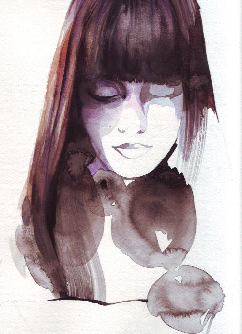 portrait de belle fille