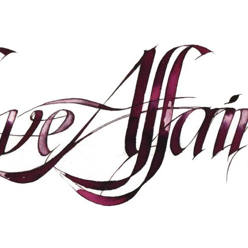 Caligraphy Love Affairs