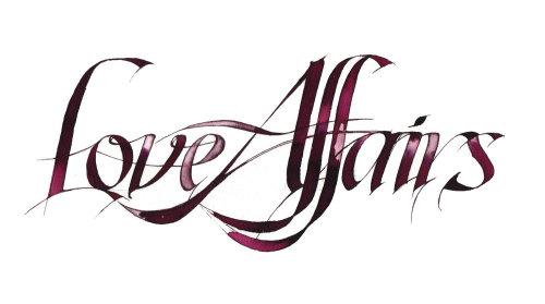 Affaires amoureuses de caligraphie