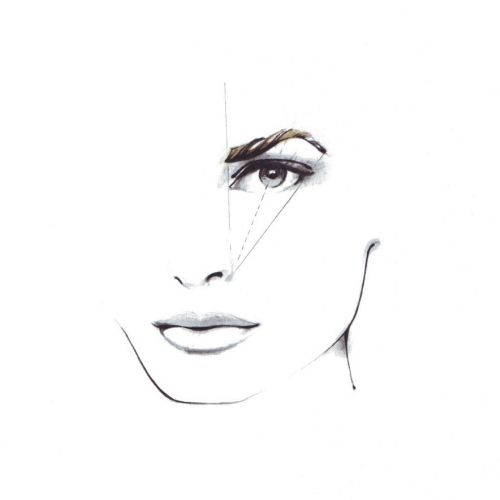 Beauty Face illustratiion