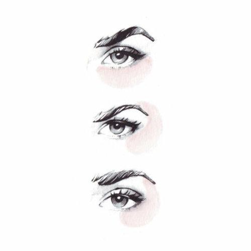 Illustration de beauté des yeux