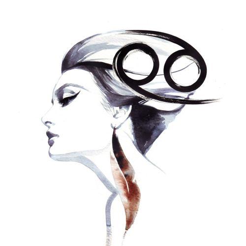 Beauty illustration of woman