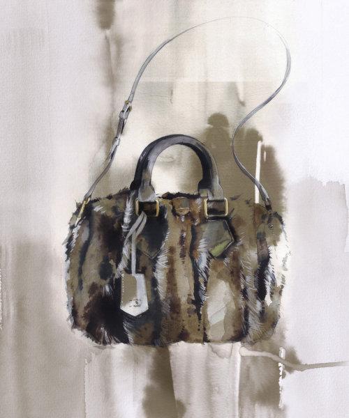 Illustration de mode de sac à main